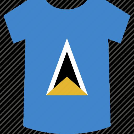 lucia, saint, shirt icon