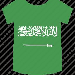 arabia, saudi, shirt icon