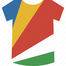 seychelles, shirt icon