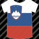 slovenia, shirt icon