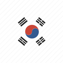 korea, shirt, south icon