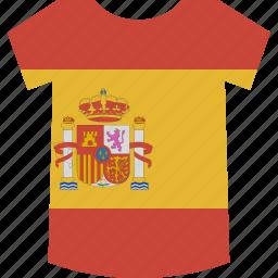shirt, spain icon