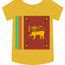 lanka, shirt, sri icon