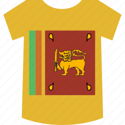 lanka, shirt, sri icon