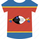 shirt, swaziland icon