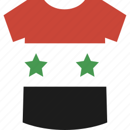 shirt, syria icon