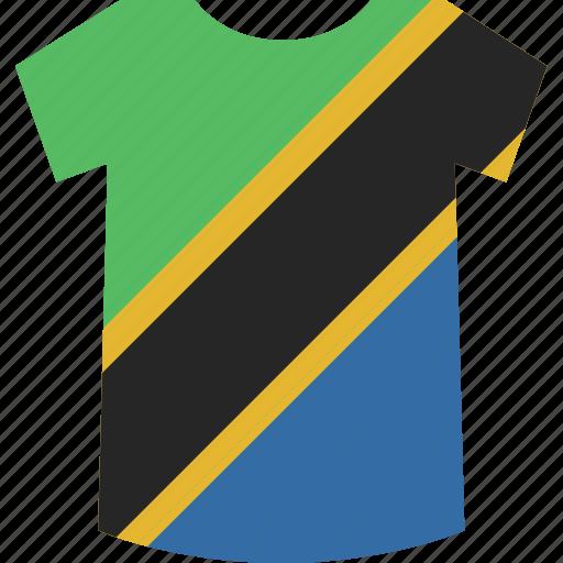 shirt, tanzania icon