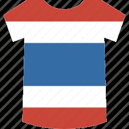 shirt, thailand icon
