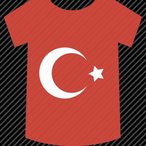 shirt, turkey icon