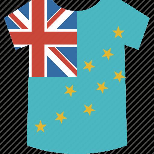 shirt, tuvalu icon