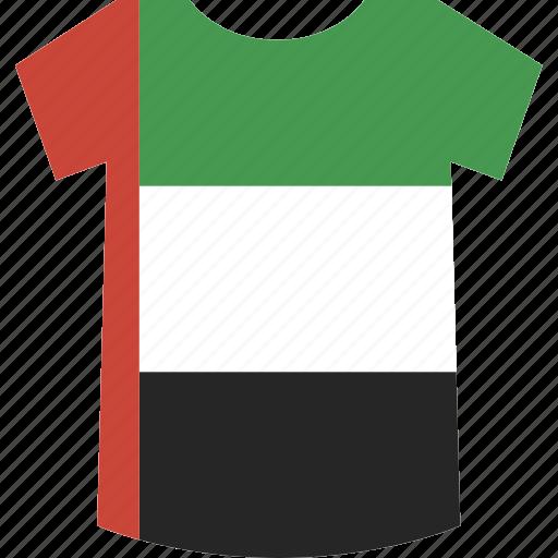 shirt, uae icon