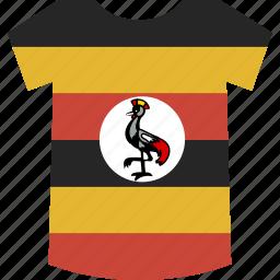 shirt, uganda icon