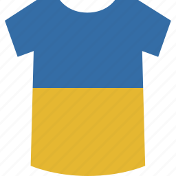shirt, ukraine icon