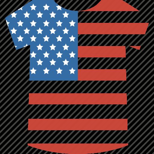 shirt, states, united icon