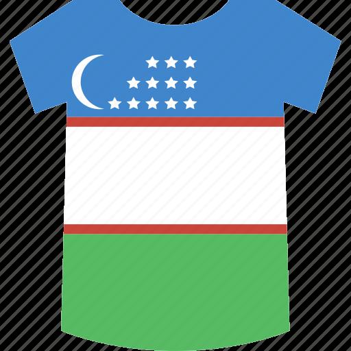 shirt, uzbekistan icon