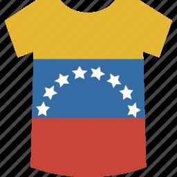 shirt, venezuela icon