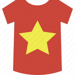 shirt, vietnam icon