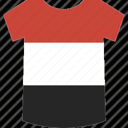 shirt, yemen icon