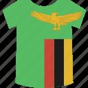 zambia, shirt