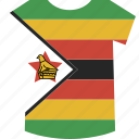shirt, zimbabwe icon