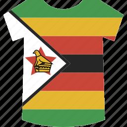 shirt, zimbabwe icon