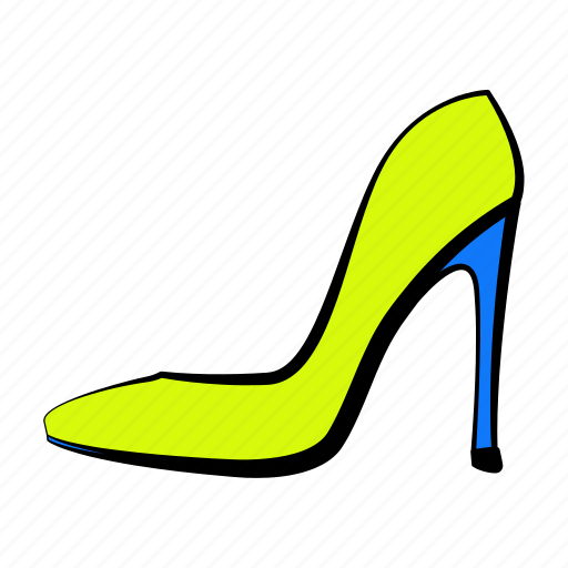 high heel shoes, shoes, women's shoes icon