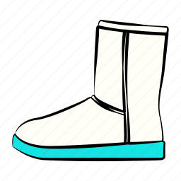 boots, shoes, women's shoes icon