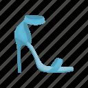 footwear, heel, shoes, women icon