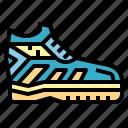 footwear, running, shoe, sneaker icon