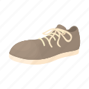 cartoon, classic, fashion, foot, leather, male, shoe icon