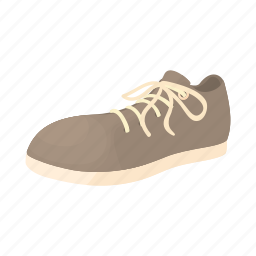 cartoon, classic, fashion, foot, leather, male, shoe icon