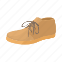 boot, cartoon, fashion, foot, leather, male, shoe icon