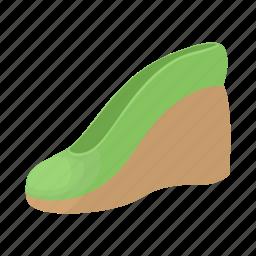 cartoon, fashion, footwear, heel, platform, shoe, style icon