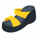 active, isometric, logo, object, paltform, shoe, woman