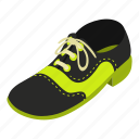 autumn, isometric, logo, object, shoe, sole, tall