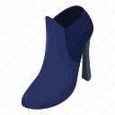 boot, isometric, logo, object, pair, sole, tall