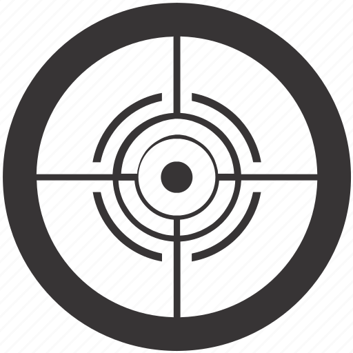 aim, arrow, bullseye, goal, shooting, target icon