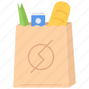 commerce, food, pocket, purchase, shop, shopping, supermarket icon
