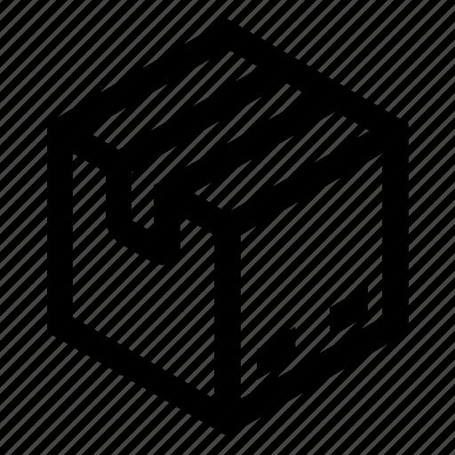 box, commerce, shipping, shopping icon