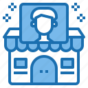 avatar, business, ecommerce, man, shop, shopping, store icon