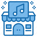 business, ecommerce, music, shop, shopping, sound, store icon