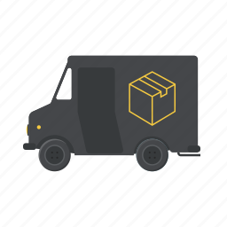 deliver, delivery truck, logistics, shipping, shippment, transportation, truck icon