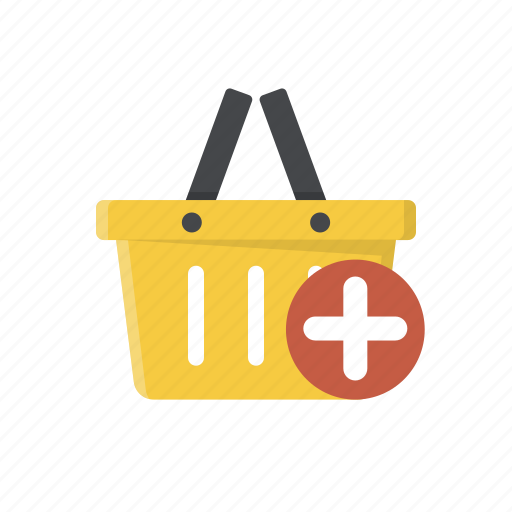 add item, add to basket, add to cart, basket, buy, online shopping, shopping basket icon