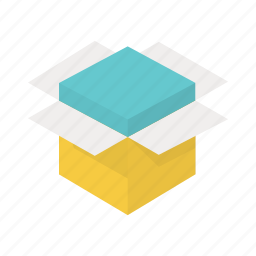 box, order, package, packed, parcel, product, shipping icon
