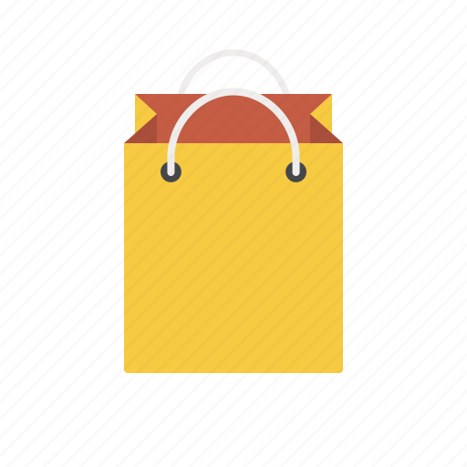 bag, gift, gift bag, package, paper bag, shopping, shopping bag icon