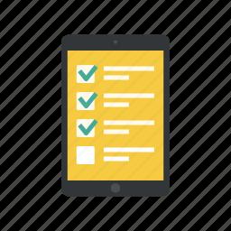checklist, online checklist, online form, online questionnaire, online survey, questionnaire, survey icon