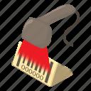 bar, barcode, isometric, object, reader, scanner, sku