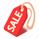 badge, discount, isometric, object, price, sale, tag