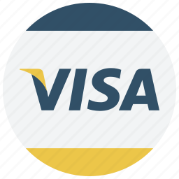 card, finance, payment, payment method, shop, visa, visa card icon