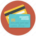 american express, cards, credit cards, creditcards, payment, payment method, shop icon